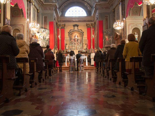 Il matrimonio di Marco e Angela a Casalbeltrame, Novara 23