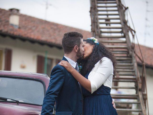 Il matrimonio di Marco e Angela a Casalbeltrame, Novara 34