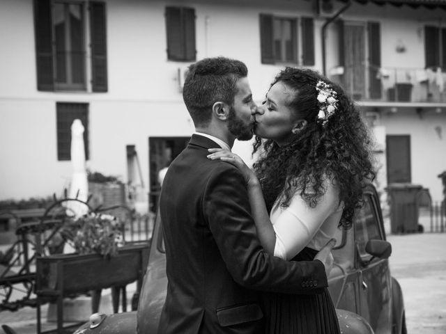 Il matrimonio di Marco e Angela a Casalbeltrame, Novara 35