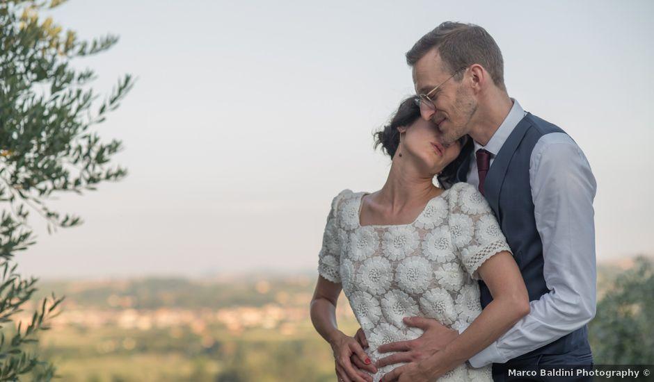 Il matrimonio di Jean Francoise e Francesca a Poggio Berni, Rimini