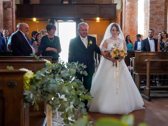 Il matrimonio di Davide e Debora a Lomello, Pavia 37