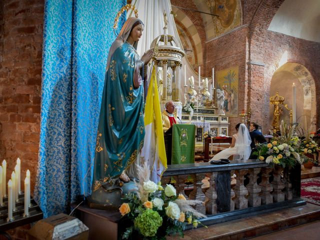 Il matrimonio di Davide e Debora a Lomello, Pavia 48
