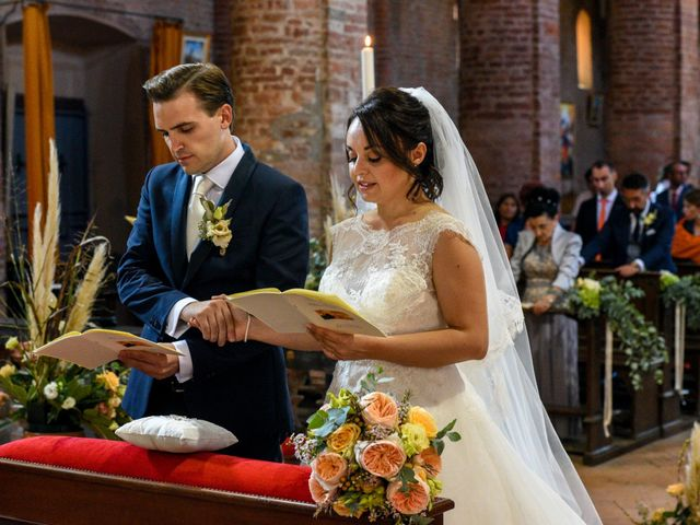 Il matrimonio di Davide e Debora a Lomello, Pavia 43