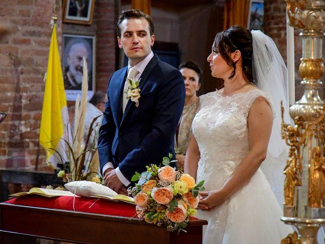 Il matrimonio di Davide e Debora a Lomello, Pavia 38