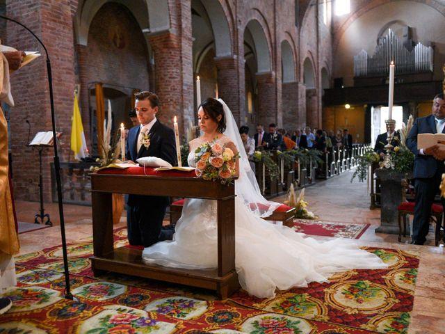 Il matrimonio di Davide e Debora a Lomello, Pavia 40