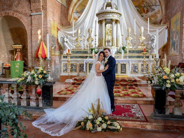 Il matrimonio di Davide e Debora a Lomello, Pavia 49