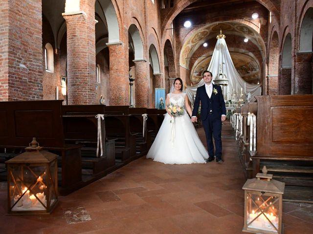 Il matrimonio di Davide e Debora a Lomello, Pavia 50