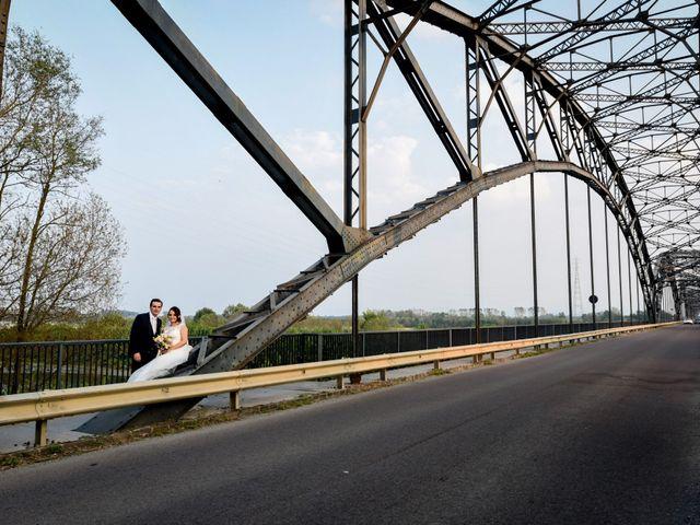 Il matrimonio di Davide e Debora a Lomello, Pavia 57