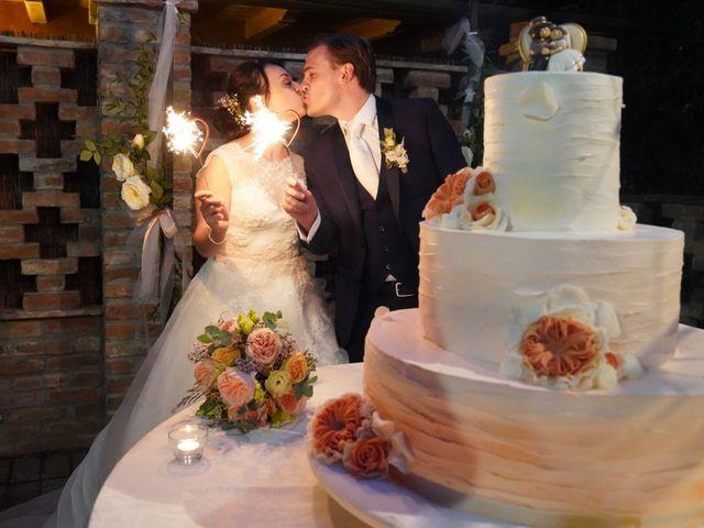 Il matrimonio di Davide e Debora a Lomello, Pavia 64