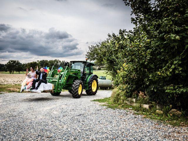 Il matrimonio di Saverio e Lorena a Montiglio Monferrato, Asti 11