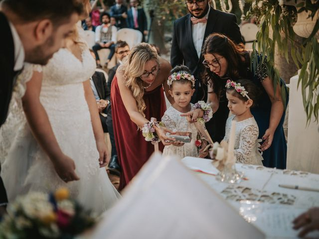 Il matrimonio di Alessandra e Giacomo a Lentini, Siracusa 57