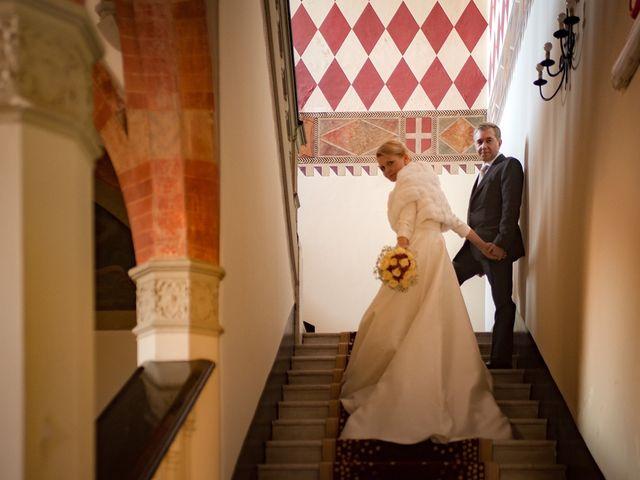 Il matrimonio di Filippo e Raffaella a Carimate, Como 10