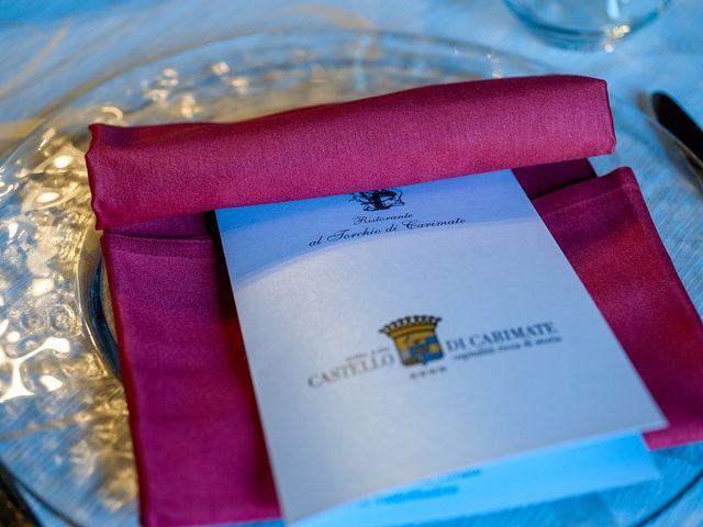 Il matrimonio di Filippo e Raffaella a Carimate, Como 11