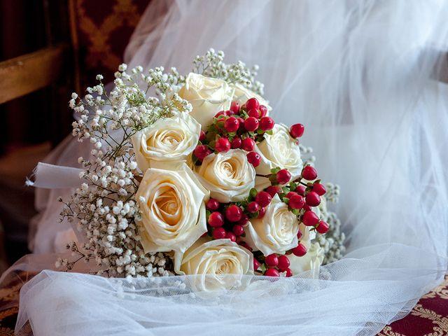 Il matrimonio di Filippo e Raffaella a Carimate, Como 13