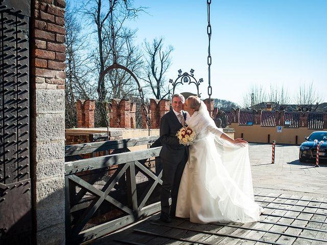 Il matrimonio di Filippo e Raffaella a Carimate, Como 19