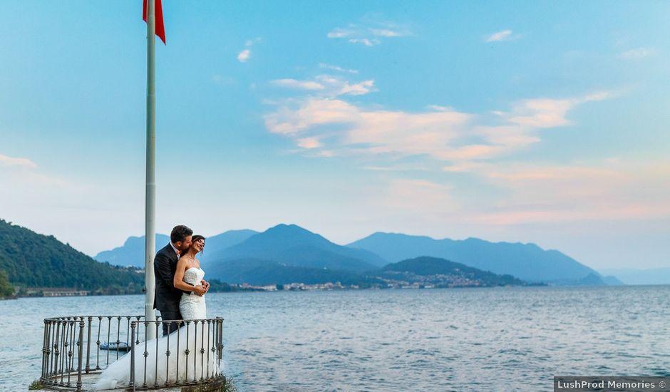 Il matrimonio di Andrea e Eva a Luino, Varese