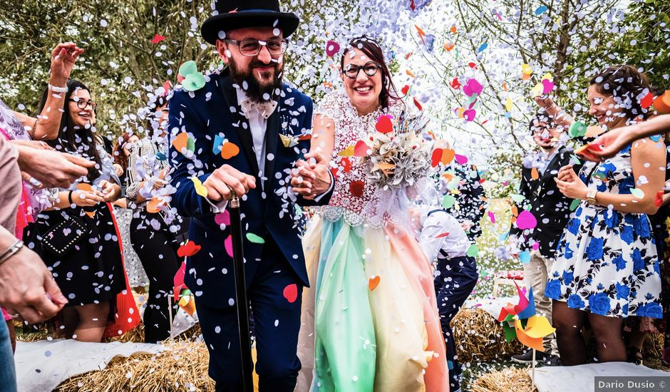 Il matrimonio di Saverio e Lorena a Montiglio Monferrato, Asti