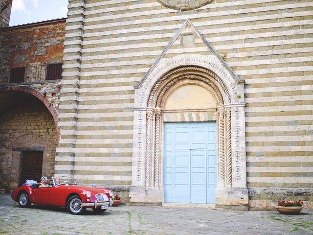 Il matrimonio di Gianni e Alba a Lucignano, Arezzo 19