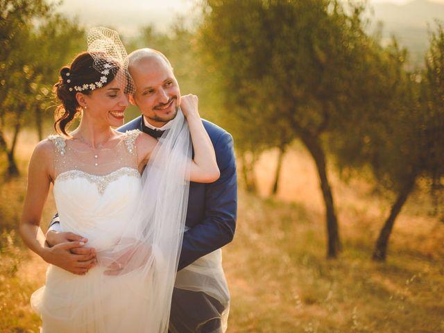 Il matrimonio di Gianni e Alba a Lucignano, Arezzo 20