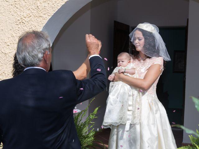Il matrimonio di Albino e Greka a Villa San Pietro, Cagliari 31