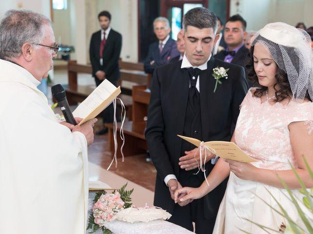 Il matrimonio di Albino e Greka a Villa San Pietro, Cagliari 47