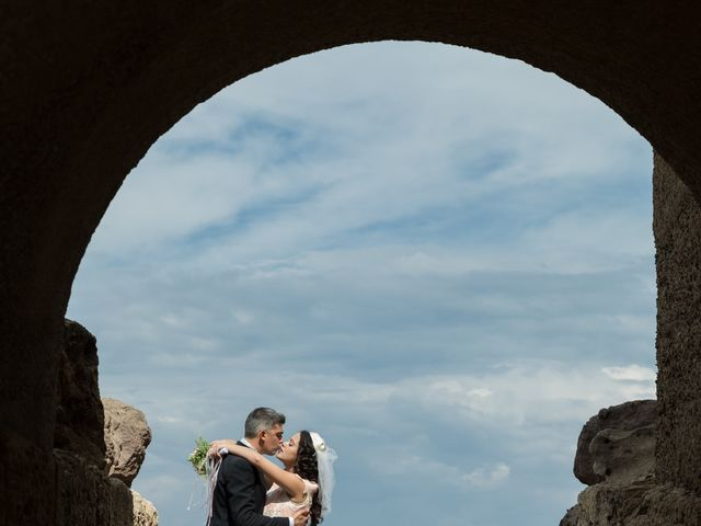 Il matrimonio di Albino e Greka a Villa San Pietro, Cagliari 71