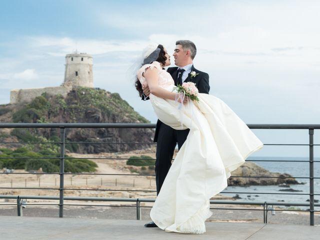 Il matrimonio di Albino e Greka a Villa San Pietro, Cagliari 74