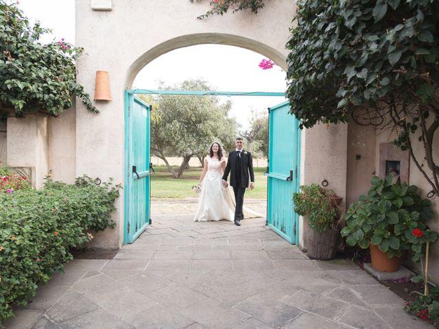 Il matrimonio di Albino e Greka a Villa San Pietro, Cagliari 75