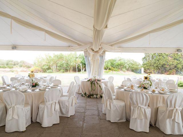Il matrimonio di Albino e Greka a Villa San Pietro, Cagliari 79