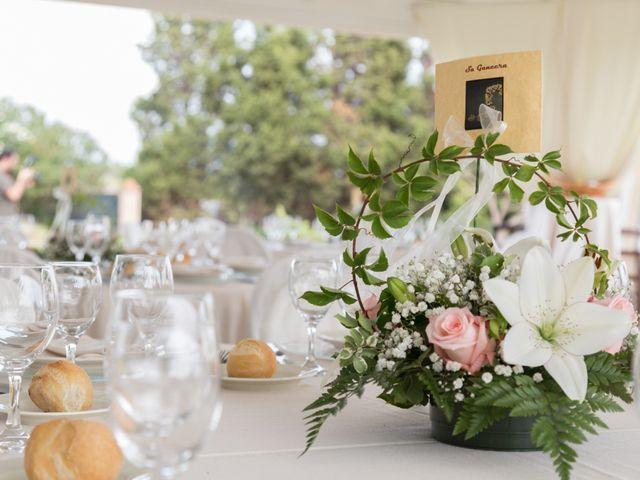 Il matrimonio di Albino e Greka a Villa San Pietro, Cagliari 82