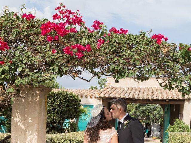 Il matrimonio di Albino e Greka a Villa San Pietro, Cagliari 83