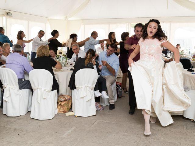 Il matrimonio di Albino e Greka a Villa San Pietro, Cagliari 101