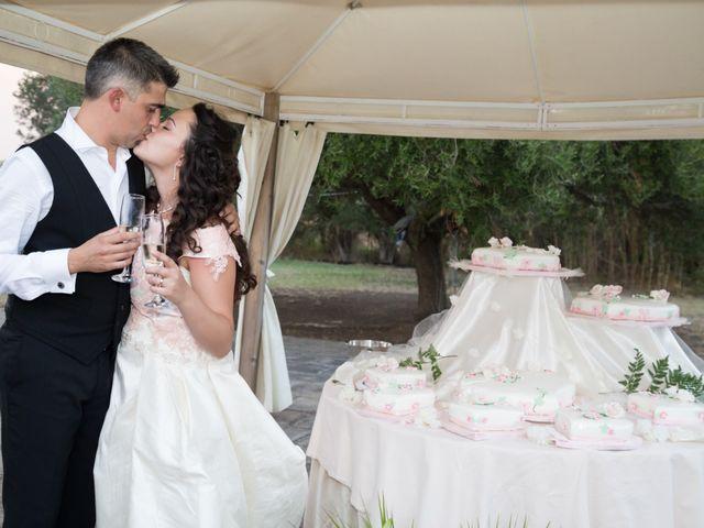 Il matrimonio di Albino e Greka a Villa San Pietro, Cagliari 108