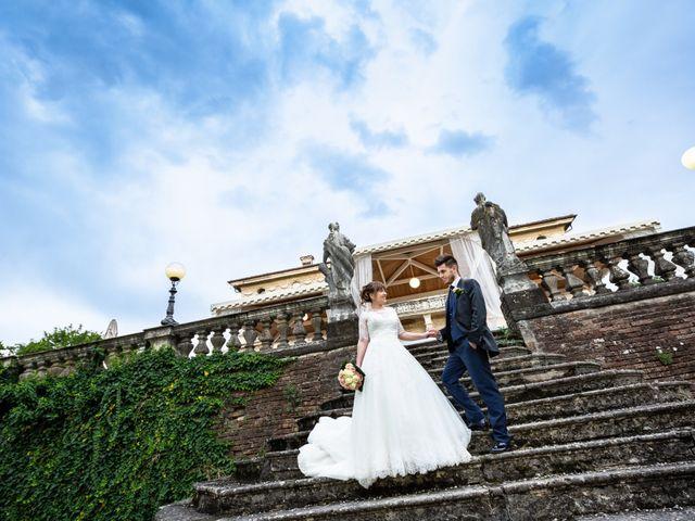 Il matrimonio di Mattia e Ambra a Tribiano, Milano 5