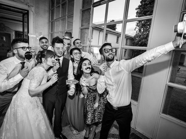 Il matrimonio di Mattia e Ambra a Tribiano, Milano 6