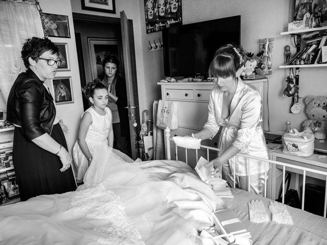 Il matrimonio di Mattia e Ambra a Tribiano, Milano 15