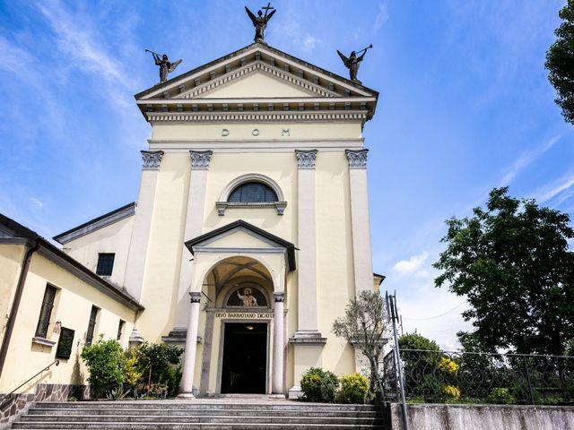 Il matrimonio di Mattia e Ambra a Tribiano, Milano 32