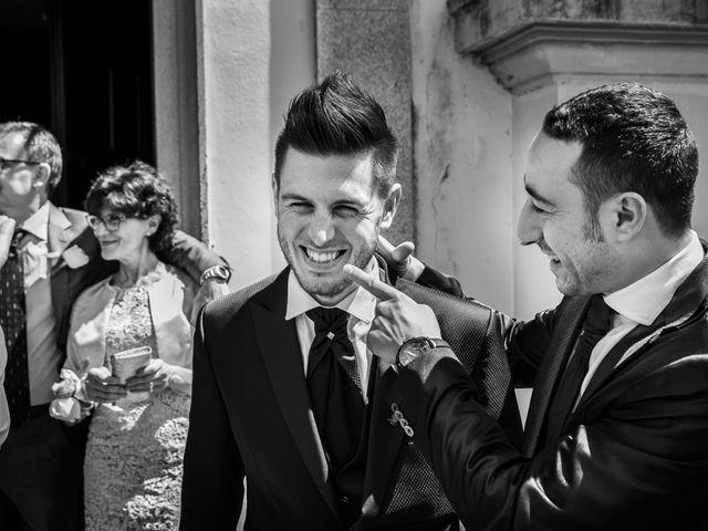 Il matrimonio di Mattia e Ambra a Tribiano, Milano 33