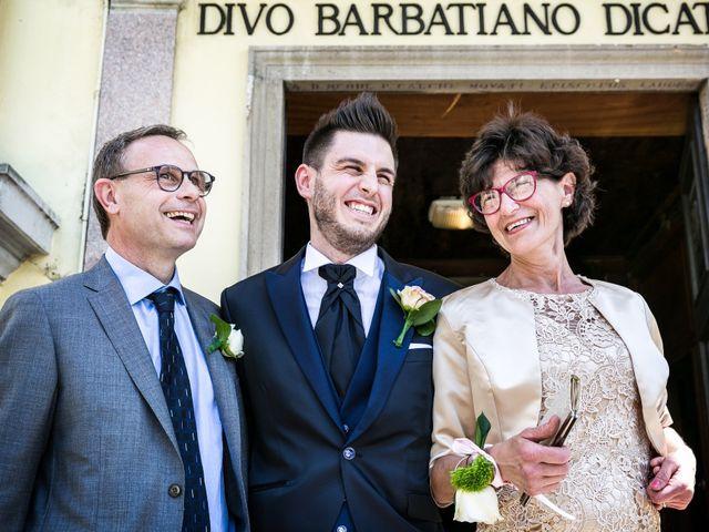 Il matrimonio di Mattia e Ambra a Tribiano, Milano 34