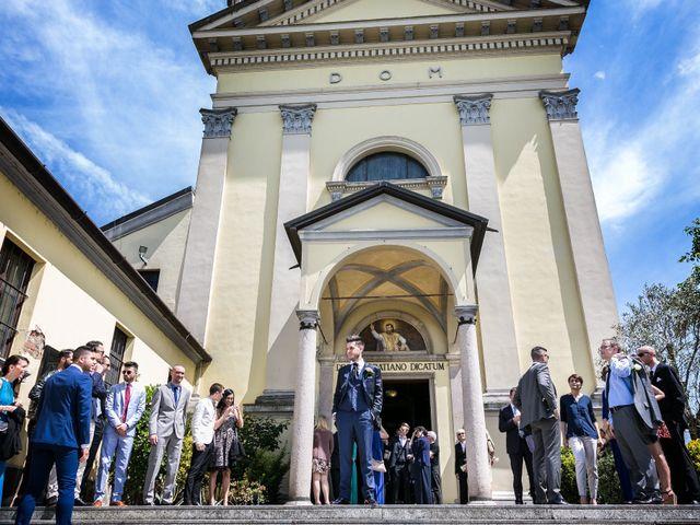 Il matrimonio di Mattia e Ambra a Tribiano, Milano 37