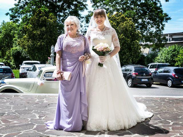 Il matrimonio di Mattia e Ambra a Tribiano, Milano 42