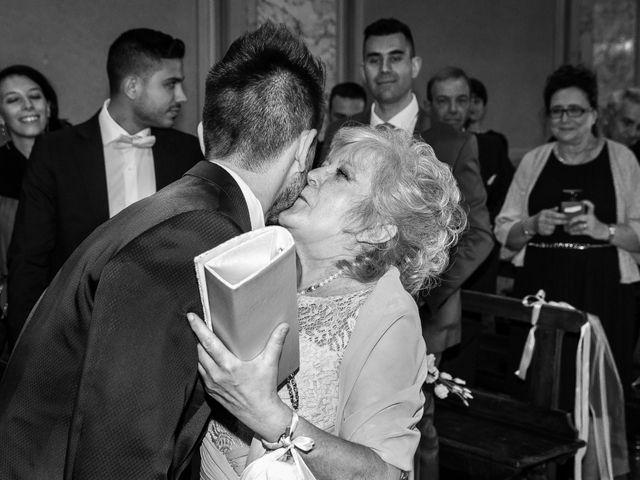 Il matrimonio di Mattia e Ambra a Tribiano, Milano 43