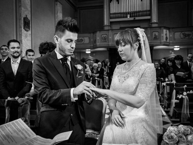 Il matrimonio di Mattia e Ambra a Tribiano, Milano 44