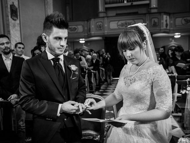 Il matrimonio di Mattia e Ambra a Tribiano, Milano 45