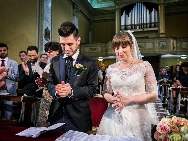 Il matrimonio di Mattia e Ambra a Tribiano, Milano 46
