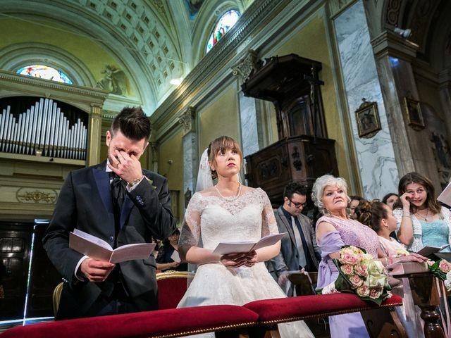Il matrimonio di Mattia e Ambra a Tribiano, Milano 48