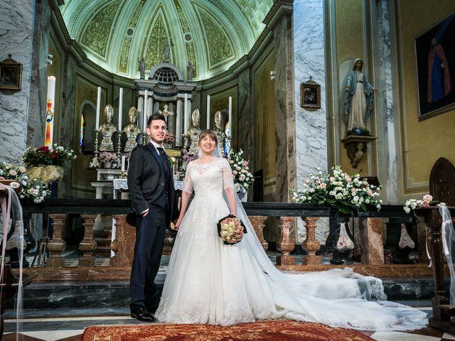 Il matrimonio di Mattia e Ambra a Tribiano, Milano 50