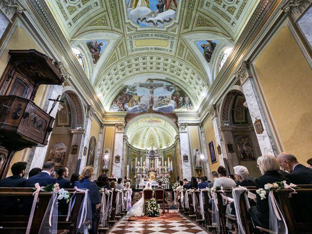 Il matrimonio di Mattia e Ambra a Tribiano, Milano 51