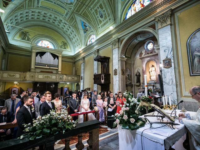 Il matrimonio di Mattia e Ambra a Tribiano, Milano 52