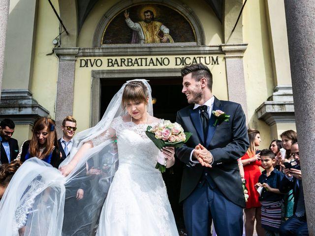 Il matrimonio di Mattia e Ambra a Tribiano, Milano 55